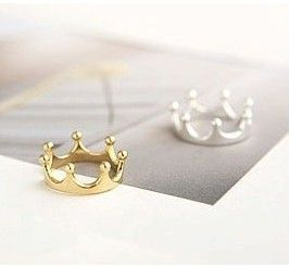 R025 Anillos Corona de Joyería de Moda Para Las Mujeres de Plata Chapado En Oro anillos De Compromiso de La Boda de La Venta CALIENTE 2016