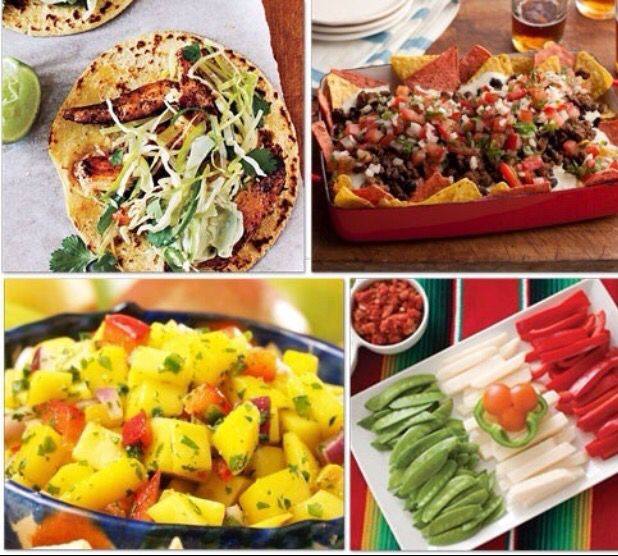 8 best food mexican food decor images on pinterest mexican group meals mexican food ideas for cinco de mayo food party forumfinder Choice Image
