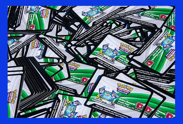 Pok mon Mixed Card Lots 104049: Pokemon Tcg : 2500 Card Lot Online Booster Pack Code Cards - 100 Ex Card Codes -> BUY IT NOW ONLY: $650 on eBay!