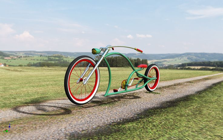 Chopper Bicycle Design by André Marques