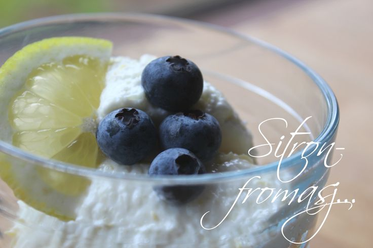 Mat for sjelen...: Luftig og lett Sitron Fromasj...