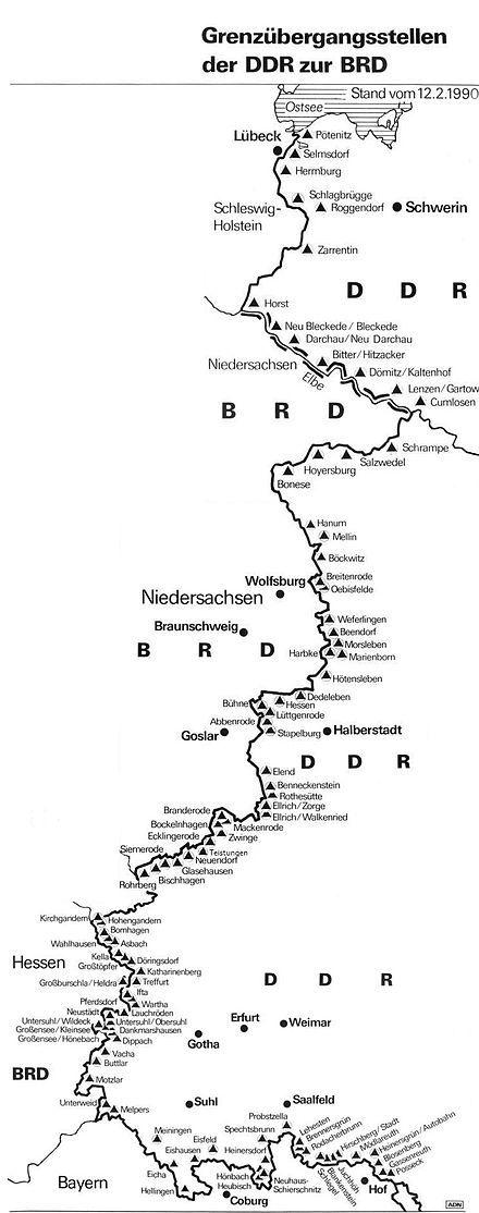 Innerdeutsche Grenze – Wikipedia