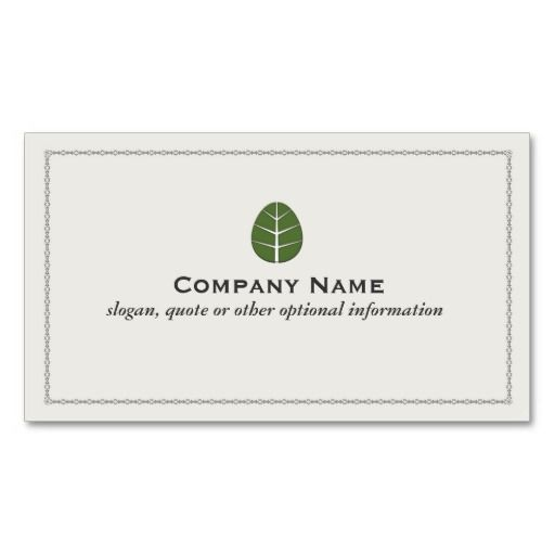 150 best landscaping business cards images on pinterest business tree leaf business card wajeb Image collections