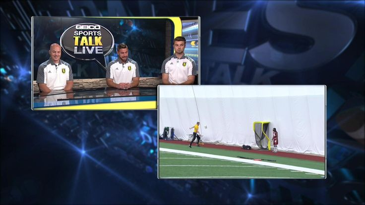 Redskins OTA soccer skills analyzed by Christos FC