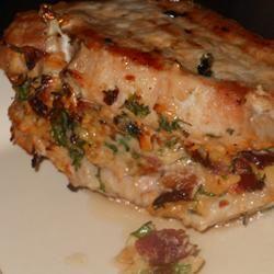 Pork Chops Stuffed with Smoked Gouda and Bacon Allrecipes.com