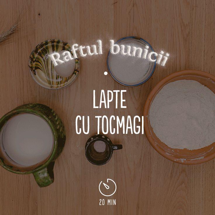 Dacă ai decis să renunți la celebrele cereale cu lapte în favoarea variantei autentice românești, atunci suflecă-ți mânecile și apucă-te de frământat tocmagi!  #AstaIRomania  #BunatatiCuDragoste  #RaftulBunicii