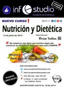 Curso Nutrición y Dietética en Tenerife - Academia InfoEstudio