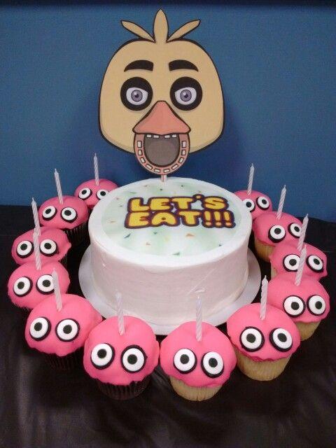 Splatoon Cake Decorations