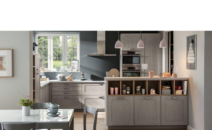 cuisine classic bois nebraska smoke pores ouverts cuisines schmidt cuisine d co. Black Bedroom Furniture Sets. Home Design Ideas