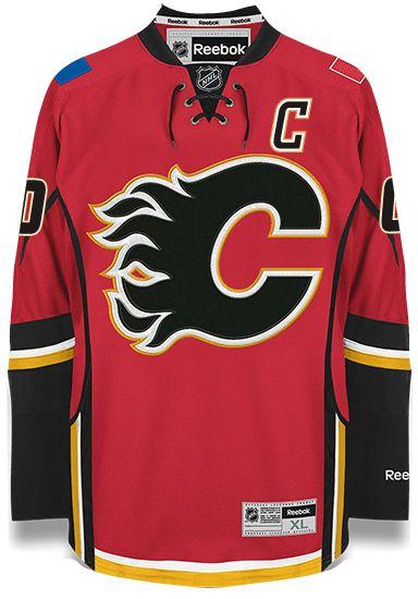 Calgary Flames Reebok Home Jersey