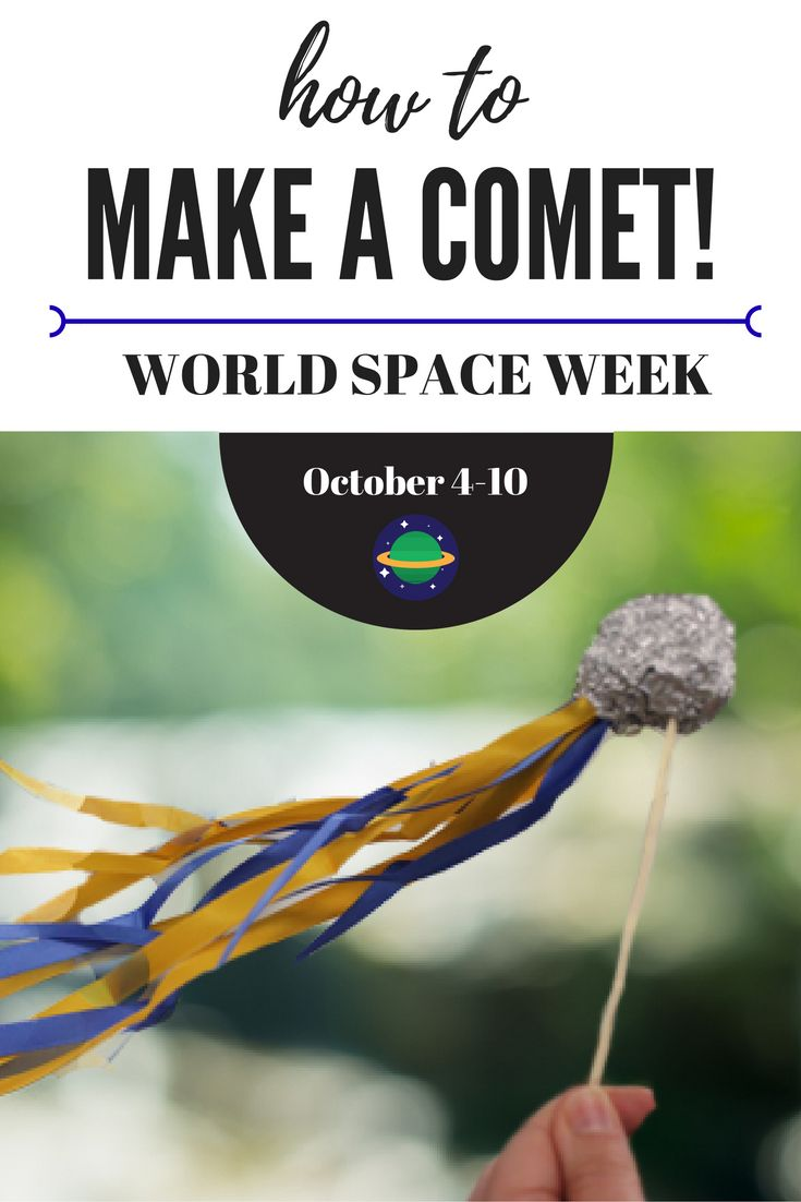 World Space Week has almost begun, and here at Little Passports we're putting on our spacesuits and making one giant leap into fun by making a comet on a stick. #LittlePassports