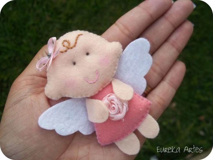 *FELT ART ~ Baby Angel