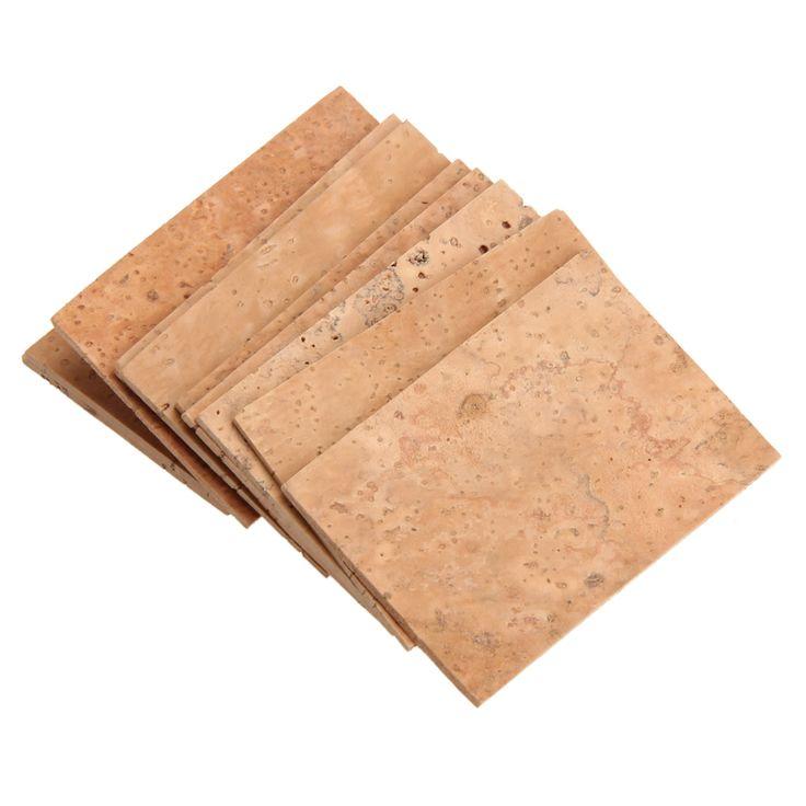 10 ADET SAKSAFON BOYUN CORK Soprano/Tenor/Alto Boyun Cork Saksafon Parçaları Aksesuarları 61x39x2mm