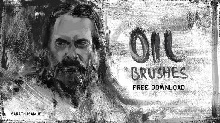 Oil Paint Brushes Set 1 Appeared First On Psfiles Photoshop