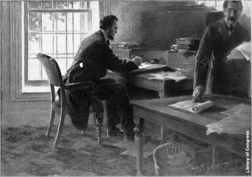 President Abraham Lincoln issued the Emancipation Proclamation 150 years ago