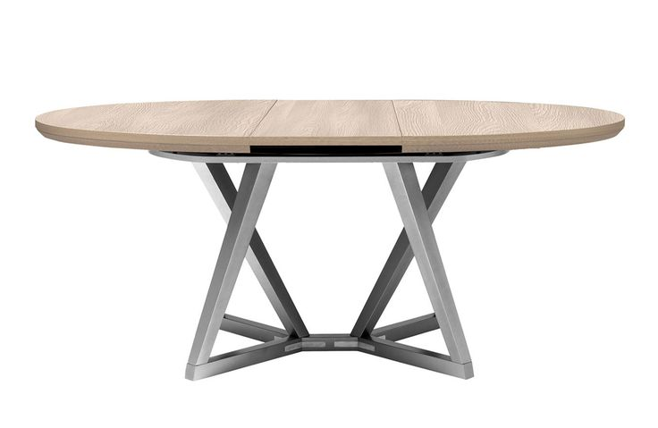Les 17 meilleures id es de la cat gorie table ronde design sur pinterest cu - Table ovale design avec rallonge ...
