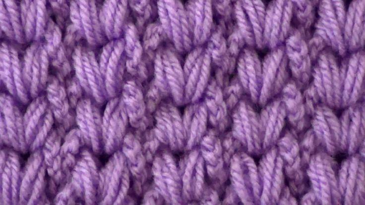 Crochet pattern Braids of puff stitchs