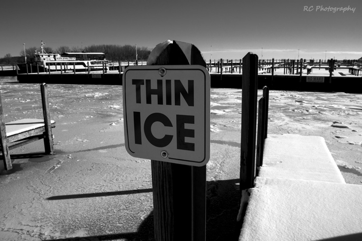 Thin Ice - Windsor, Ontario  Photo: Richard Carson