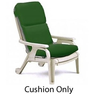 Grosfillex Bahia Stacking Deck Chair Cushion Outdoor