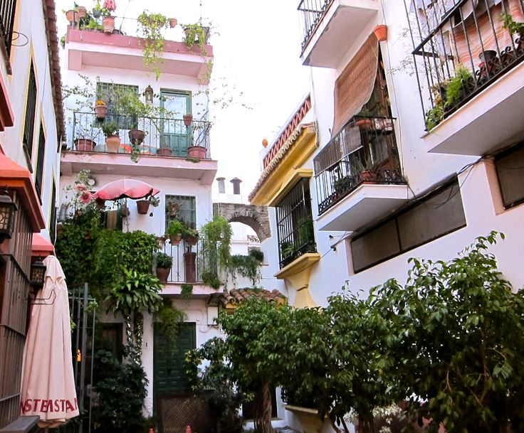 imagenes marbella old town | Mary M. Payne: Malaga, Marbella old town centers, Day One Spain