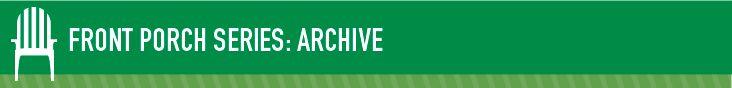 Front Porch Archive :  Head Start Webinars