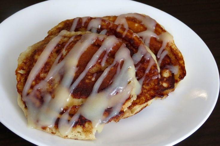 Cinnamon Roll Pancakes sind nur für die Mutigen, die frühstücken   – Breakfast
