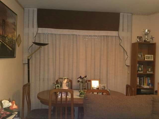 Cortinas con corbatas y band recto todo cortinas y - Todo cortinas y estores ...