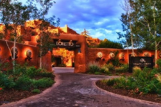 Inn + Spa at Loretto - Santa Fe, NM.