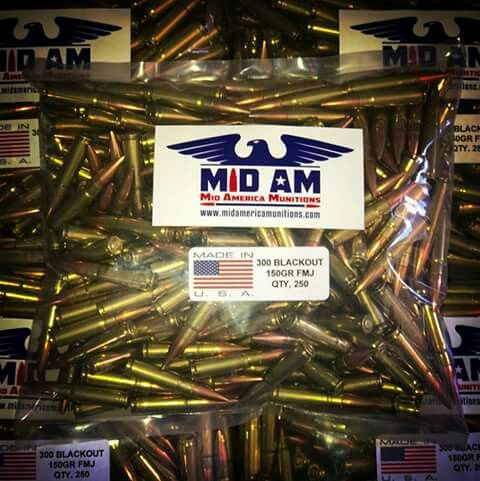 GIVEAWAY! GIVEAWAY! OUR FIRST GIVEAWAY!!! LIKE OUR PAGE, LIKE, COMMENT, AND SHARE FOR A CHANCE TO WIN A 250RD BULK PACK OF 300 BLACKOUT 150GR FMJ AMMUNITION PACKAGED IN AN AMMO CAN.   You must like our page, like, comment, and share the post to enter! When we reach 1000 likes, we'll pick a random winner. Then we'll up the ante and do it again!! Thank you all for your support! -Team MidAm   #300BLK #2A #NRA #THISBLUELINE #SUPPORTVETERANS #AR15 #GUN #AMMO #AWESOMESAUCE #BADASSERY #PEWPEW…