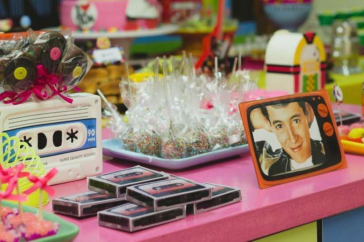 80s Birthday Party Ideas | Photo 111 of 151 | Catch My Party
