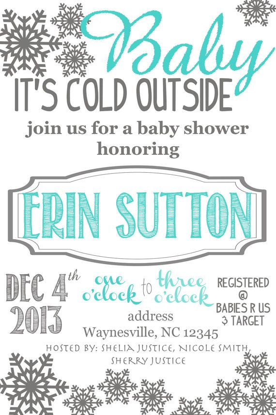 outside baby shower invitation digital file outside baby showers