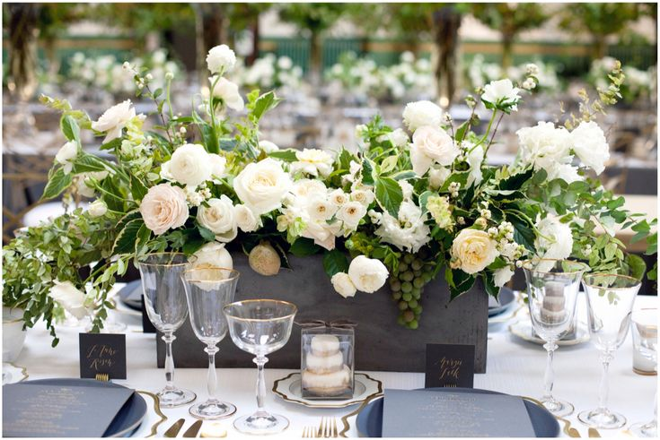 Stunning centerpiece by Sinclair & Moore.