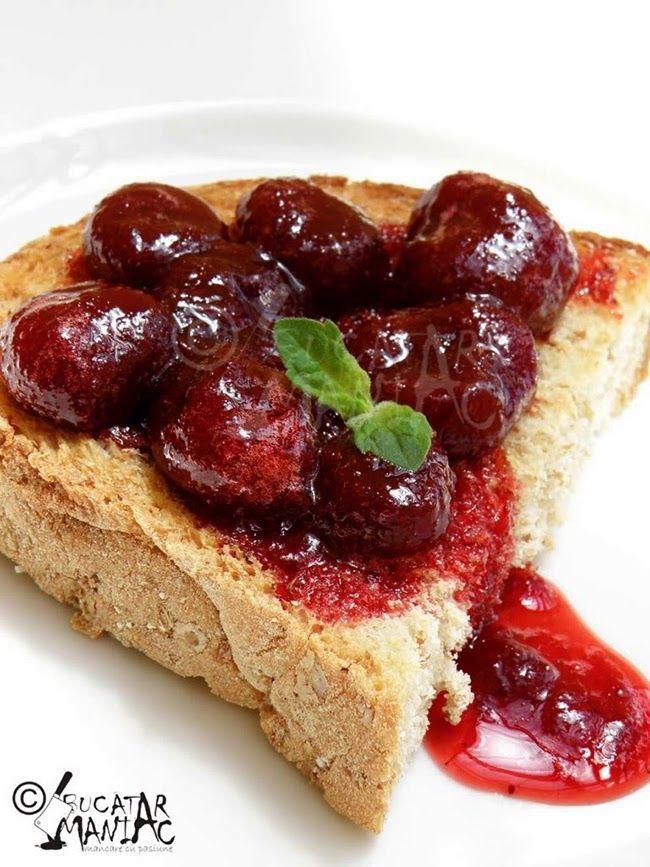 bucatar maniac: Cum pastram capsunile intregi in dulceata? Trei reguli importante!