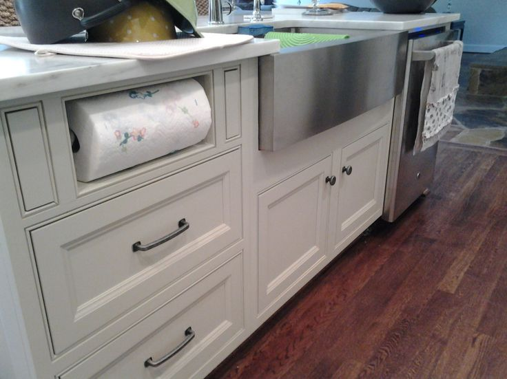 paper-towel-holder-Kitchen-Transitional-with-crystal-Crystal ...
