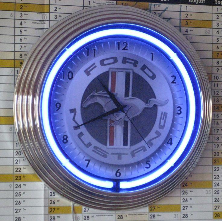 32 besten NEON CLOCKS Bilder auf Pinterest Uhren, Neonuhr und - küchen wanduhren design