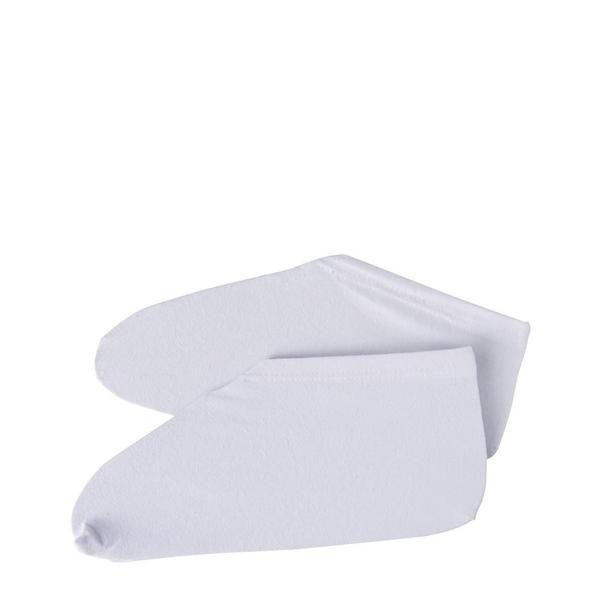 Moisturising Cotton Socks - one size, white