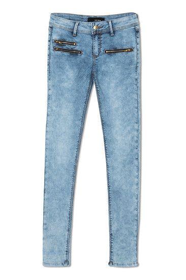 zippers #jeggings #skinny #jeans #denim #TALLYWEiJL ...