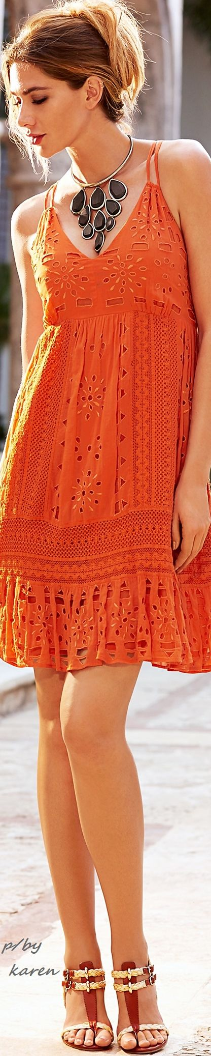 Boho Chic- love this, but need better straps and a different color See more at http://www.spikesgirls.com