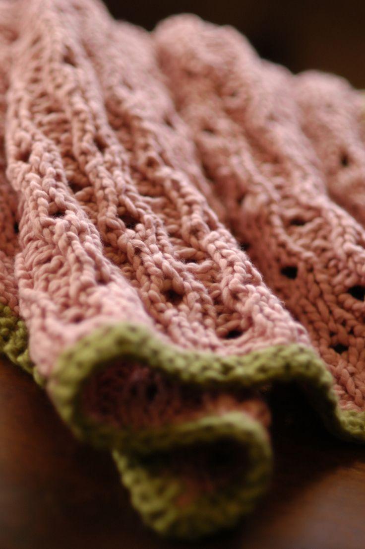 Baby Iselle's Blanket free Knitting pattern on Knit 1 LA at http://www.knit1la.com/2012/05/baby-iselles-blanket.html