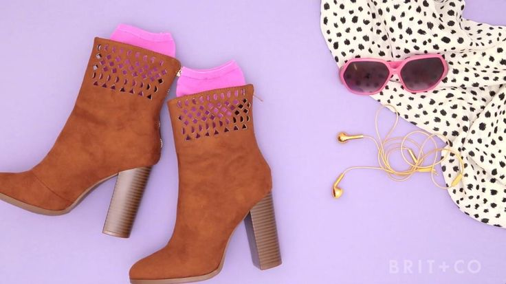 How to DIY Cut-Out Booties