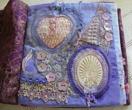 Book Cover Vintage Quilt : Best images about fabric books on pinterest