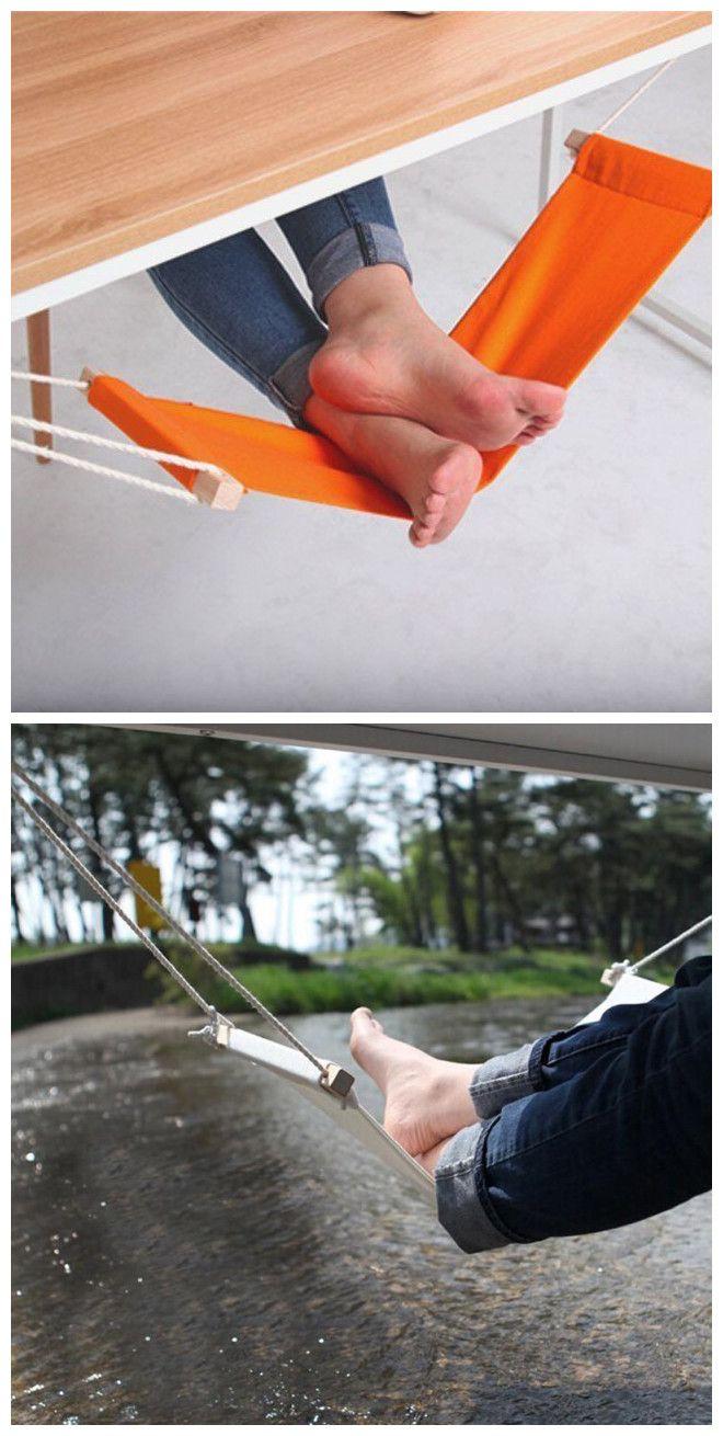 »Foot Desk Foot Rest. Cool Desks That Make You Love Your Job« #forthehome #gearbest #stuffandtechnologies