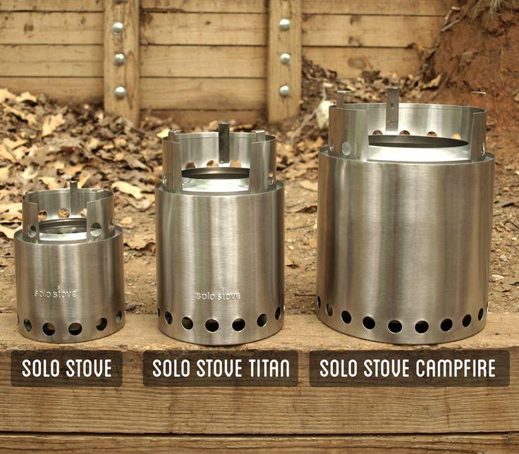 solo stove ソロストーブの3種類のモデル