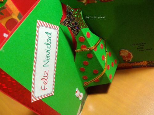 Feliixxx navidadtarjetas para navidad 3 estilos pop up - Hacer una postal de navidad ...