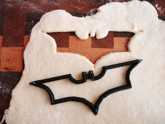Batman Cookie Cutter 3D Printed от CustomLegend на Etsy