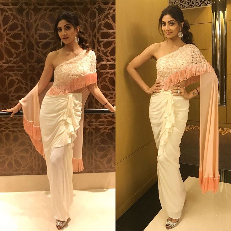 "35.1k Likes, 190 Comments - Shilpa Shetty Kundra (@theshilpashetty) on Instagram: ""For the event tonight dressed in @rebeccadewanofficial , @anmoljewellers  and @miumiu shoes . Hair…"""