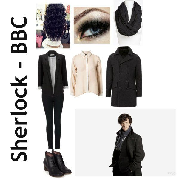 Sherlock outfit for women.