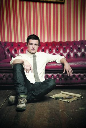 Josh Hutcherson. Can't wait for him to play Peeta