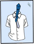 need to learn how to tie a tie.