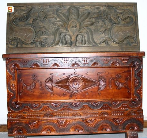 carved dowry chest - Google Search